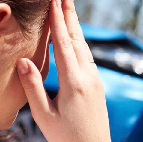 storitev - odskodnina za prometno nesreco